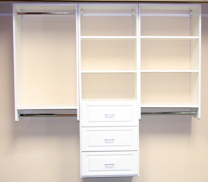 closet organizers toronto -Wood Shelving - gallery 03 - Keystone