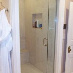glass shower doors - frameless door and panel - Keystone