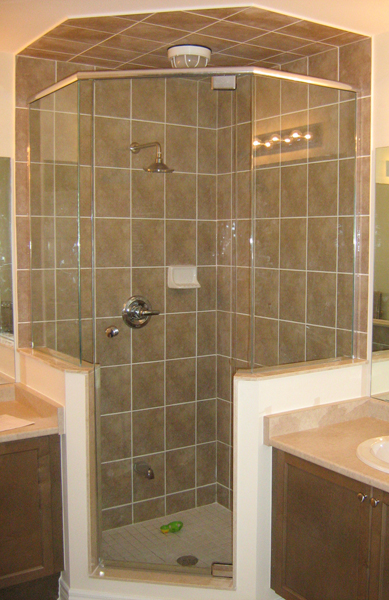 glass shower doors -Frameless Shower Enclosures 02 - Keystone ...
