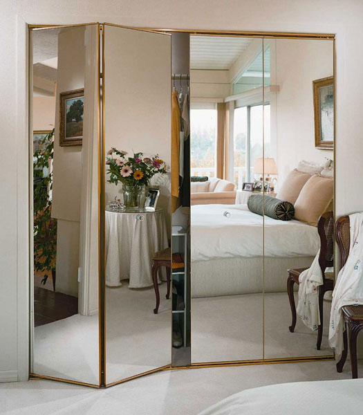 Amazing Mirror Closet Doors U2013 Mirror U2013 Bifold U2013 Frameless U2013 Keystone