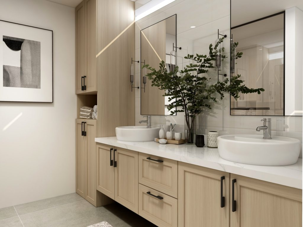 How to Add a Customized Frame to a Frameless Mirror
